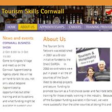 Tourism Skills Cornwall - website