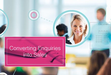Converting Enquiries Into Sales