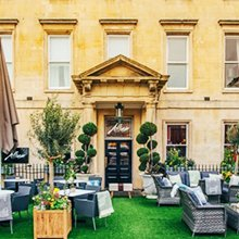 Abbey Hotel Bath Ian Christa Taylor Allium Restaurant ArtBar